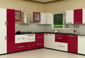 PVC Board Kitchen by Ghaziabad Timbers
