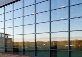 Glass Glazing Work by Globus Infratech