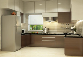 Modern Modular Kitchen by A.P. Designer & Decoraters