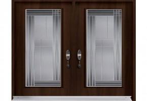 Glass Wood Panel Doors by Raj Wooden Craft