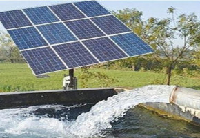 Solar Water Irrigation System by Aakash Solar Energy