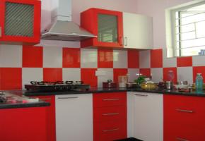 PVC Modular Kitchen by Balaji Kitchen