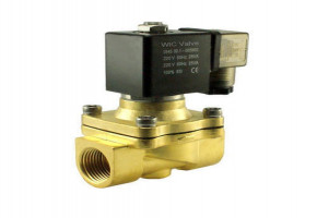 Bentone Burner Solenoid Valve by Combustion & Control Systems
