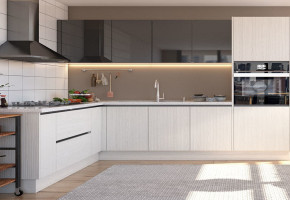 Modular Kitchen Design by Gleam Interio