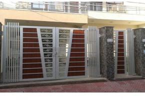 Designer Stainless Steel Gate