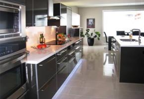 HI Gloss Wooden Designer Modular Kitchen by My Interior