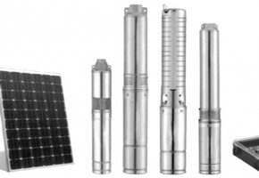 3 Phase Solar Submersible Pump by Green Max Systems