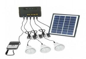 Solar Lighting Kit by Avee Energy
