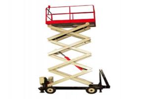 Floor Mounted Scissor Lift, Capacity: 500-10000 kg