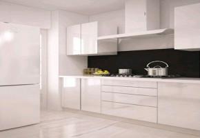 White Modular Kitchen Designs  by Aman Enterprises