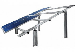 GI Solar Panel Structure by RD Solar Solution & Installation Private Limited