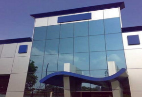 Structural Glass Glazing Work by PH Industries