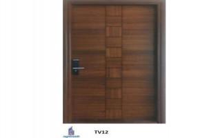 TV12 Flush Veneer doors by Rightmark UPVC Windows Doors