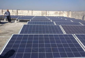 Luminous 10 kW RoofTop Solar Grid Tied Systems