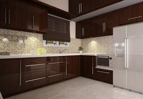 Designer Modular Kitchen by Pooja Interior Decorator