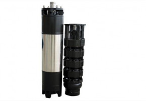 """Oswal 7.5hp 8 Stage 6"""" Borewell Submersible Pump"""