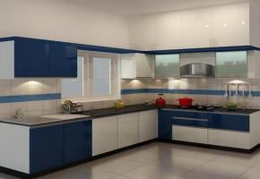 Modular Kitchen Sample by Vivek Plywood