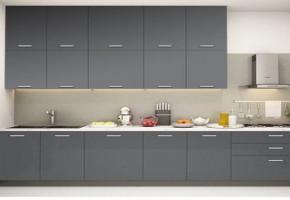 Straight Modular Kitchen by Kreativ Interior Decorators