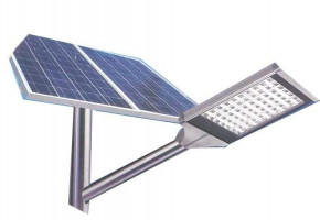 36 LED Solar Street Lighting System by Surat Exim Private Limited