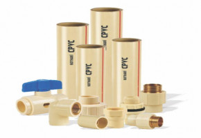 CPVC Pipes and Fittings, Size: 3/4 & 1 inch