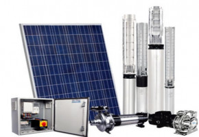 10 HP Solar Submersible Pump by AP Digital Systems