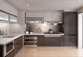 Modern Wooden L Shaped Modular Kitchen, Warranty: 5-10 Years