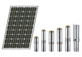 0.5Hp DC Solar Pump by Surat Exim Private Limited