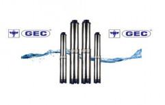 0.75 Kw - 3.7 Kw Multi Stage Pump V4 Borewell Submersible Pump, Warranty: 12 months
