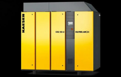 10 HP Kaeser air compressor, Discharge Pressure: 8 Bar, Model Name/Number: Csg-2 & Dsg-2 Series