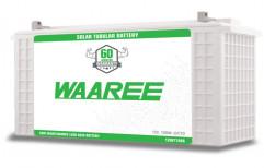 12 V 12WT150S Waaree Solar Batteries, 150 Ah