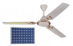 12 VDC Metal BLDC Solar Ceiling Fan