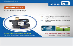 3 HP Single Phase Mini Booster Pump, For Industrial