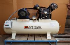 3HP Mantra Air Compressor, Air Tank Capacity: 150 Ltr, Discharge Pressure: 12.30 Kg