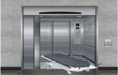 Agosto Stainless Steel Hospital Elevators