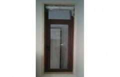 Aluplast Brown Side Aluminium Windows, Size/Dimension: 2 X 7 Feet