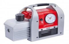 Cast Iron Oil Lubricant Vacuum Pumps 2-Stage Vacuum Pump Roairvac R32 6.0, 70w, Floor / Permanent