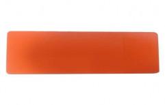 Citybond Orange Aluminium Composite Panel