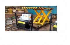 Equator 2 HP Mild Steel Portable Scissor Lift, Max. Height(millimetre): 1200, Capacity (kg): 350 & 500
