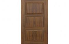 Fab Living Supera Teak Veneer Neo Classic Door