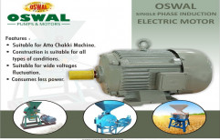 Foot OSWAL 2 HP SINGLE PHASE ELECTRIC MOTOR, 220