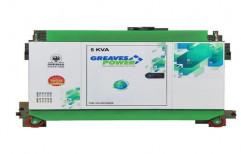 GPA II-5 Three Phase 5KVA Greaves Power Silent Diesel Generator