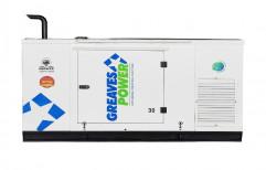 30 KVA Greaves Power Silent Diesel Generators, 3 Phase