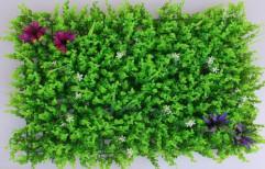 "Green Plastic,Synthetic Artificial Vertical Garden, Size: 22"" X 18"", Natural"
