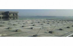 Grid Tie Mild Steel Solar Panel Mounting Structure, Thickness: 5 Mm, Size: 12x3 Feet