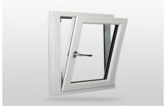Light Oak Residential UPVC Tilt Turn Window