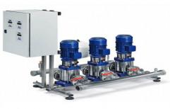 Lowara 74 Hp Xylem Pressure Booster Pump Set, 415 V,230 V, 37 Kw