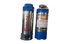 Single Phase Less than 1 HP Mahindra Gold Domestic Submersible Pump, Model Name/Number: v-4, Electric
