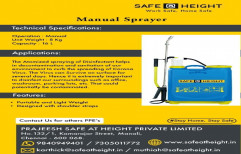Mannual Type Manual Sprayer, For Spraying, Capacity: 16ltrs