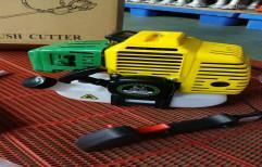 Manual DX-430 Petrol Brush Cutter, Fuel Tank Capacity: 650 ml, for Grass Cutting