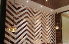 Modern Designer Wall Cladding, Size: Large (12 inch x 12 inch)